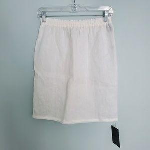 NWT Fendi Linen White Beach Skirt